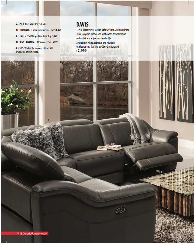 El Dorado Furniture Spring 2016 Catalogue - Sample 3