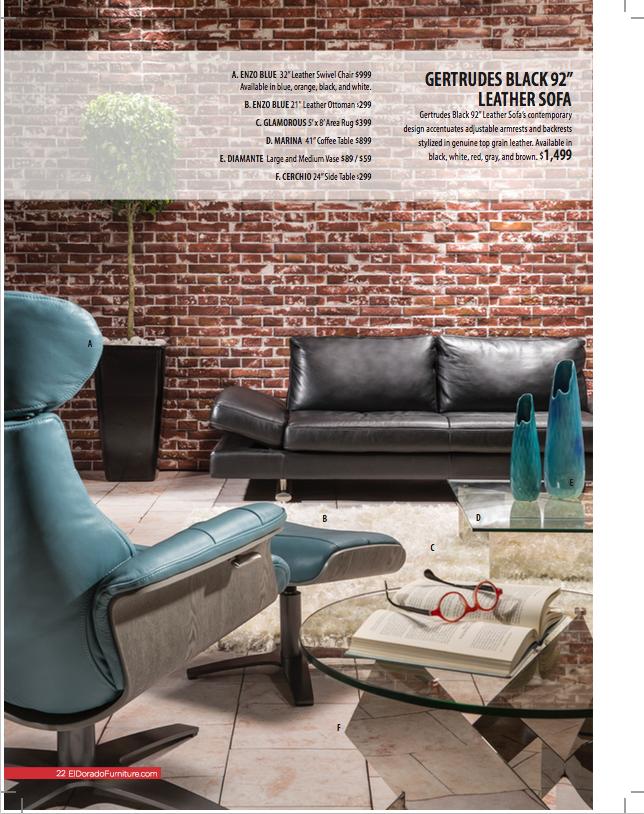 El Dorado Furniture Spring 2016 Catalogue - Sample 6