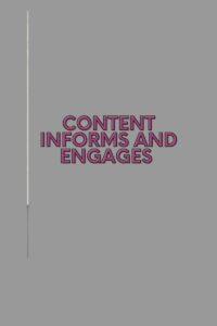 copy versus content